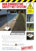 'Non Conductive Safety Net System'